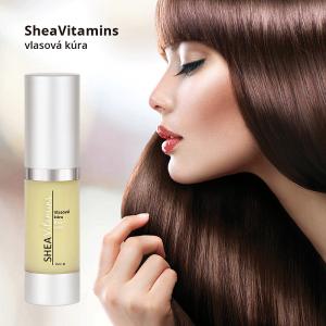 Jak na třepící a lámající se vlasy? Vlasový regenerátor SHEA Vitamines
